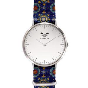 Orologio Barbosa mosaico blue