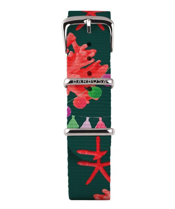 Cinturino stella Marina in nylon 18mm , collezione mediterranean