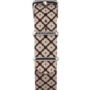 Cinturino Floory in nylon , collezione mediterranean .