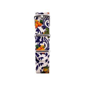 Cinturino (piccolo) 14 mm nylon , arance e limoni