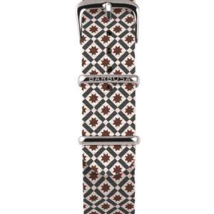 Cinturino Quadri in nylon , collezione mediterranean .