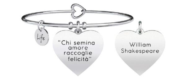 Bracciale Kidult , LOVE , Chi semina Amore...