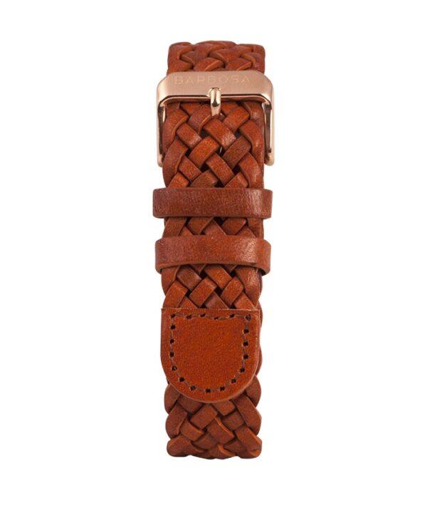Cinturino Pelle intrecciata 18mm , collezione Pelle.