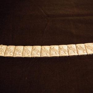 Bracciale in oro bianco e brillanti