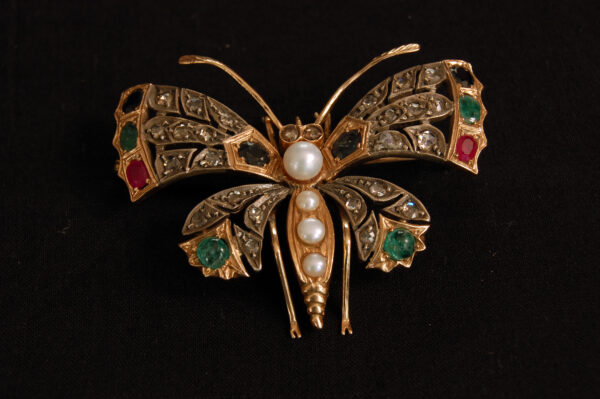 Spilla a Farfalla Antica