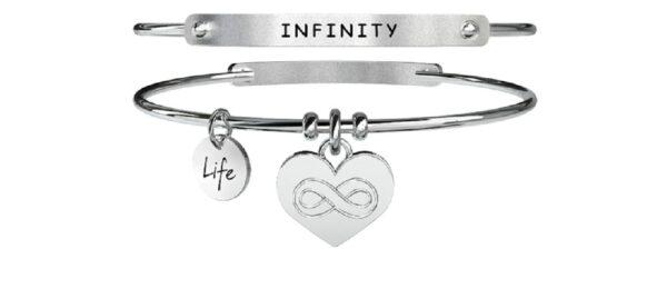 Bracciale Kidult, LOVE, Infinity